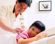 Massages to boost your child's immunity
