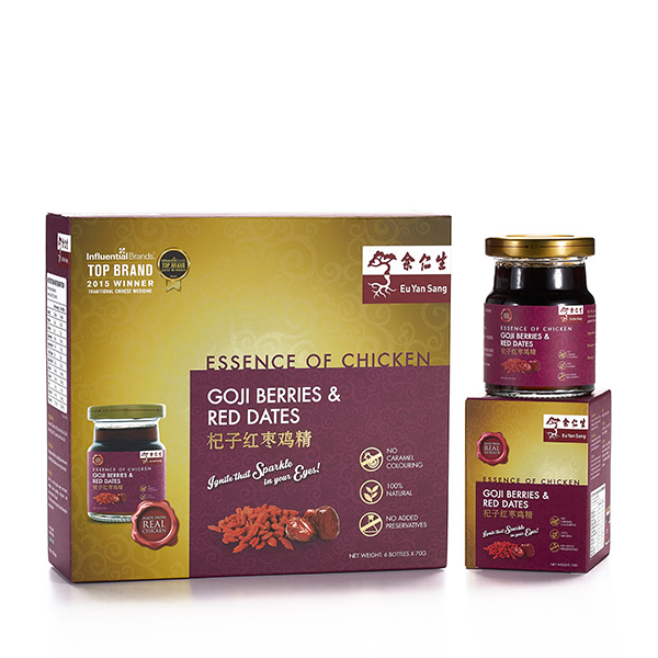 Essence of Chicken with Goji Berries & Red Dates Extract 6's