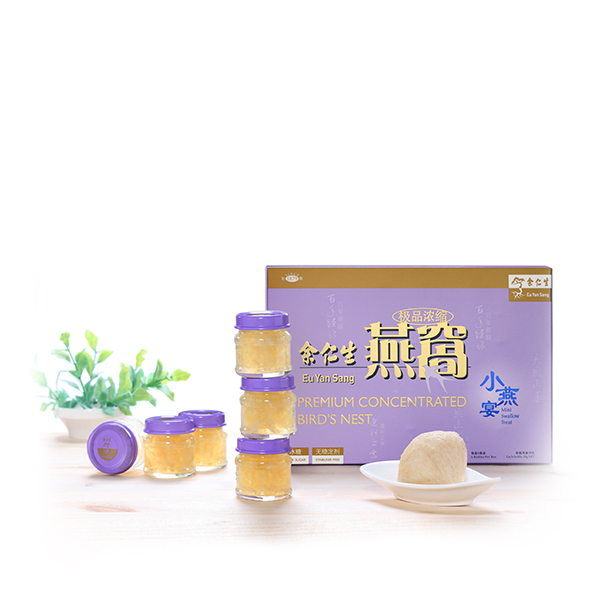 Premium Concentrated Bird's Nest with Rock Sugar Mini Treats