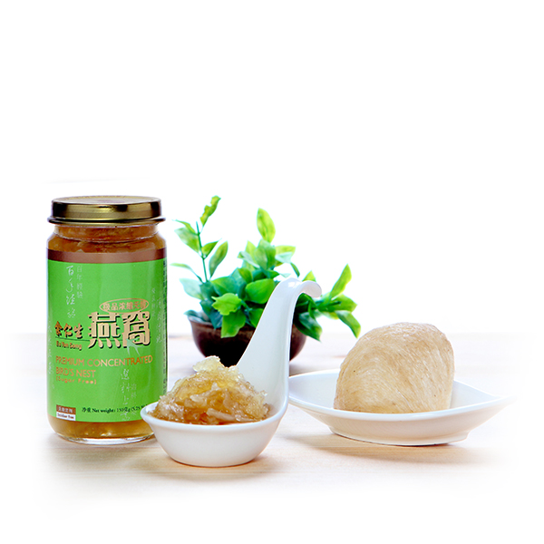 Premium Concentrated Bird's Nest (Sugar Free)