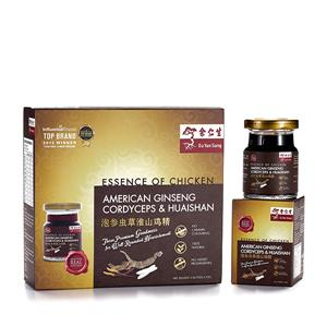Essence of Chicken with American Ginseng, Cordyceps & Huaishan Extract 6's