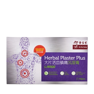 Stick-Well Herbal Medicated Plaster (Large)