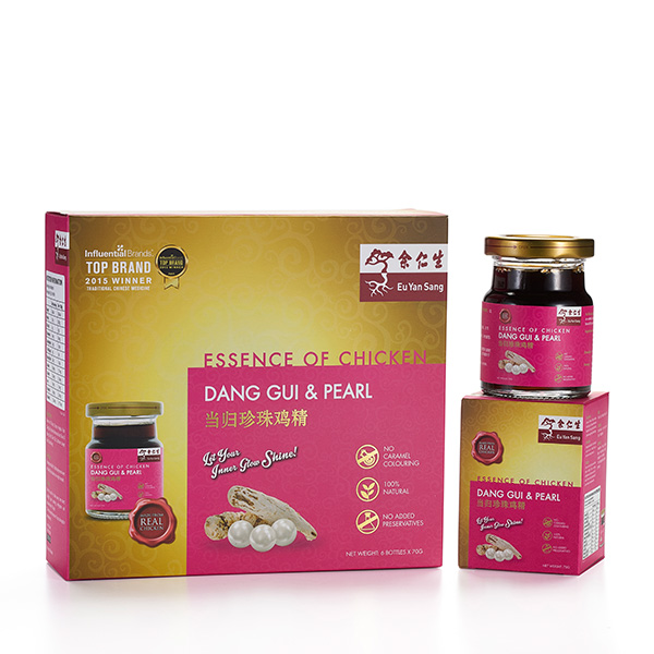 Essence of Chicken with Danggui & Pearl Extract 6's