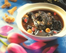 Lotus & Ginseng Black-Boned Chicken Soup