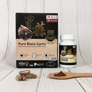 Pure Black Garlic, 30 Capsules (純黑蒜)