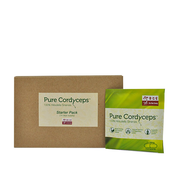 Pure Cordyceps 14 Days Starter Pack (Best Before: 3 Oct 2018)
