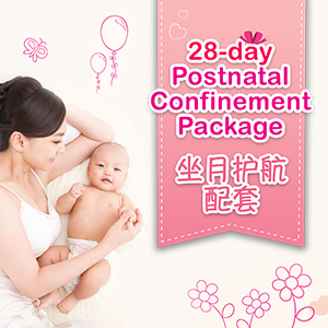 28 Day Postnatal Confinement Package (坐月護航配套)