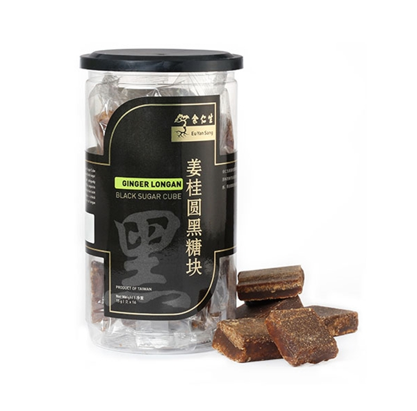 Black Sugar Cube With Ginger Longan (薑桂圓黑糖塊)
