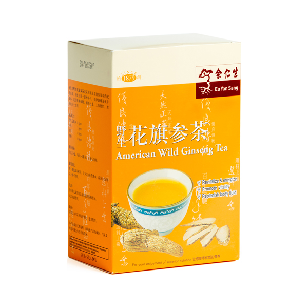 Ginseng Tea - Box of 24 (Dented Box)