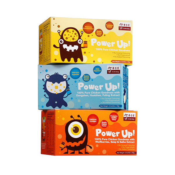 Power Up! Combo - Chicken Essence for Kids (雞精組合)