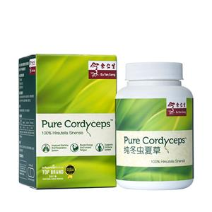 Pure Cordyceps, 30 Veggie Caps (Best Before: 8 Jun 2019)